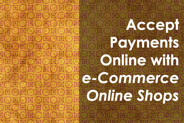 eCommerce Online Shop Payments